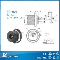 12v dc connector jack