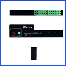 Wickon q12 rifusione forno macchina di saldatura onda l'analisi del profilo di registratore di temperatura