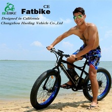 High performance 48V 500W fat tire electric bicycle,rechargeable bikes