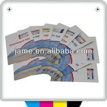 2014 guangzhou professional CMYK colorful jet flyer/air flyer printing