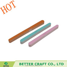 HOT Healthy 10pcs pack Disposable Nail File Personalized Wooden Nail File,Nail File
