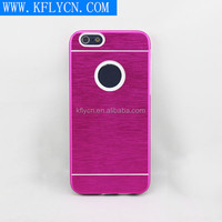 aluminum phone case bright color protective cover suit for iphone 6