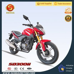 Cheap Modern Bright Color Best Chinese Street Motorcycle SD300II