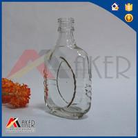 Clear vodka glass bottle,Frost odka bottle,absolut vodka bottle