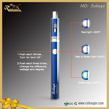 Wholesale Factory Directly 50W VW TC Electronic Cigarette Kit Adjust Airflow E Pen Vapor Starter Kit In Stock