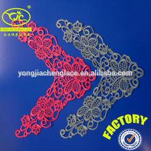 ( yjc15673) fábrica de ganchillo de algodón cuello de encaje cuello