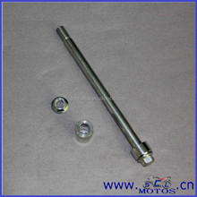 SCL-2012110152 Motorcycle for GN125 rear wheel axle