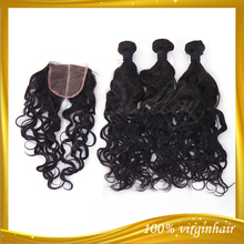 Quality single donor natural wavy temple remy 100% natural indian human hair price list