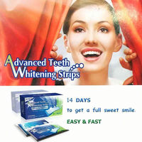 Before Christmas CREST Whitestrips Advanced Crest teeth whitening strips