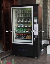 combination vending machine with large capacity & coin acceptor&banknote reader LV-205L-610