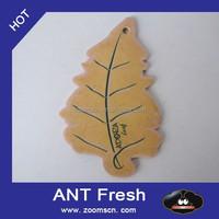 Paper Car Jar Hanging Air Freshener Clean Cotton Scent (3 PACK)