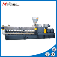 Double Screw Extruder Machine plastic granular extruder