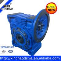 NMRV130 worm gear reducer 80: 1 Cast iron worm gear