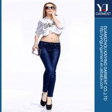 el último diseño skinny jeans dama mujer pantalones vaqueros