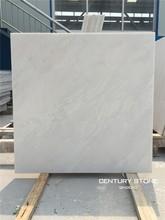 snow white marble tile for floor decoration