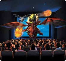 5d theater simulations 7d projector cinema with CE