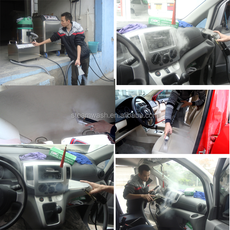 Mobile High Tech Diesel Steam Best Car Wash Exterior And Interior Automatic Car Wash