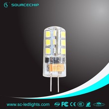 manufacture in China produce CRI>80 2W led lights g4
