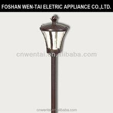 Low voltage antique solar lamp pro garden