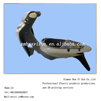 China professional undertaking various injection molding plastic motorcycle parts