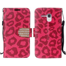 wallet case for alcatel one touch fierce XL,hybird leather cover for alcatel Fierce XL cover case