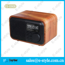 Bluetooth retro boom box with alarm clock radio Calendar for iphone 6 plus