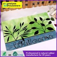Door Mat natural rubber DM296 floor mat kitchen rug door rug rubber backed rubber backing bathroom mat