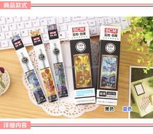 Gel ink plastic roller ball pen refill for promotion v2170