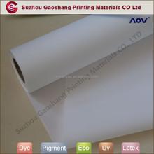 Eco- freundlich inkjet-leinwand roll 44 zoll für Latex-Drucker