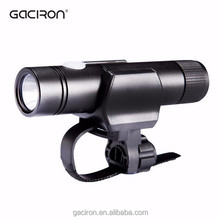 Super mini and portable bicycle front light multifunctional flashlight