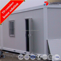 Expedient shipping container house plans