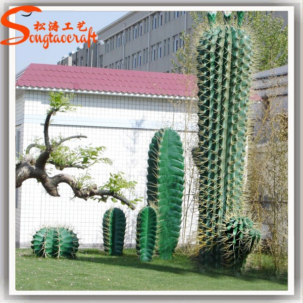jardin paysage d coration plantes artificielles cactus plantes arbre en plastique gros cactus. Black Bedroom Furniture Sets. Home Design Ideas