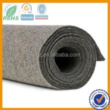 3mm thick grey wool felt