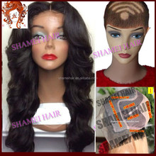 2015 New Design Silk Top Wig Virgin Chinese Full Lace Wig 12 Inch