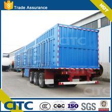2015 Hot Sale Multi Purpose 2/3 Axles 35ton-60ton dry bulk transporting Van Type Semi Trailer