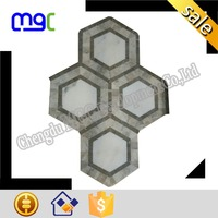 very different stone mosaic tile - interlocking pattern