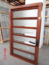 Aluminum Alloy Frame Material and Casement Windows Type jalousie glass window