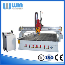 Hot Product 4AXIS 2030 Cheap CNC Wood Carving Machine For Guitar Making