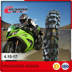 Best Selling Products China Rubber Tyre For Motorcycle 4.10-17
