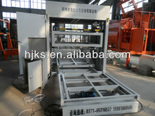 New foam concrete block cutting machine