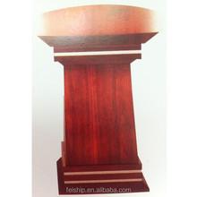 factory price wooden MDF podium ecofriendly pulpit FS0088