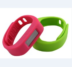 Health smart wristband with Pedometer measure; sport watch for android cell phone accessories--wrist bracelet step Fitness track