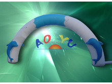 ocean park ad promotion inflatable entrance arch
