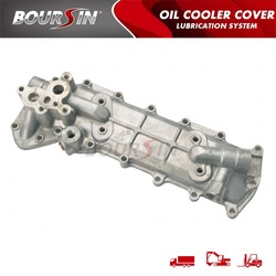 BOURSIN/4D105 6134-61-2113 Excavator Oil Cooler Cover hydraulic engine Assembly OEM