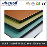 Alusign aluminum composite panel color chart