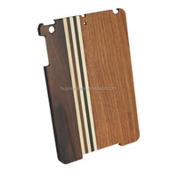 Universal style ultra thin wooden tablet case for ipad mini for sale with nice package