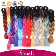 Wholesale synthetic hair braids, cheap synthetic braiding hair