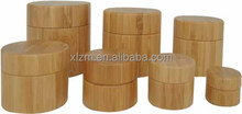 bamboo cream jar bottle in different volume