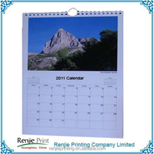 Customer Design Promotional Wall Calendar Printing
