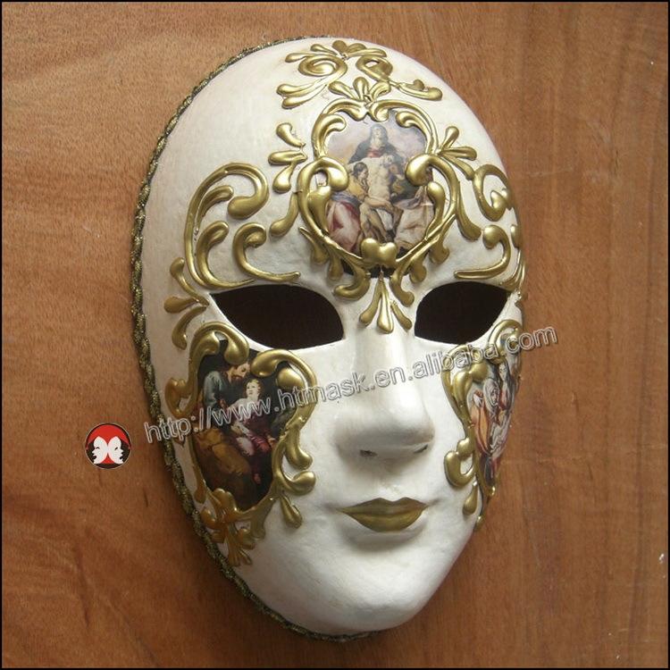 Party Venice Venetian Music Masquerade Full Face Musical Silver ...